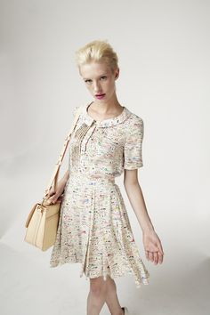 Orla Kiely Spring 2013: Airplanes, Beaches, and Swimmers