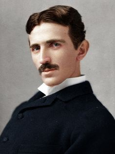 Nikola Tesla [serbian-american inventor, electrical engineer, mechanical engineer, and physicist/futurist]