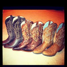 I REALLY want a pair of cowboy boots! <3