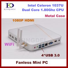 This is nice, check it out!   2G RAM+500G HDD Thin client  mini itx fanless computer Intel Celeron 1037U Dual Core 1.8Ghz,4*USB 3.0,1080P HDMI,HTPC,WIFI,VGA - US $225.00 http://globalcomputershop.com/products/2g-ram500g-hdd-thin-client-mini-itx-fanless-computer-intel-celeron-1037u-dual-core-1-8ghz4usb-3-01080p-hdmihtpcwifivga/
