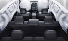 2015 Kia Sorento Crossover SUV - 2015 Sorento Limited interior. An advanced supplemental restrain system for a reassuring ride.