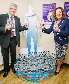 UHMBT staff challenged to keep hydrated http://www.cumbriacrack.com/wp-content/uploads/2016/08/David-Walker-Jackie-Daniel-Flourish-campaign.jpg Staff across University Hospitals of Morecambe Bay NHS Foundation Trust (UHMBT) are being challenged to drink more water as part of a Trust wide health and wellbeing campaign http://www.cumbriacrack.com/2016/08/09/uhmbt-staff-challenged-keep-hydrated/