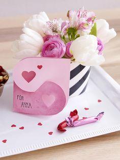 Am 14. Februar ist Valentinstag und wenn du deinem Liebsten eine besondere Botschaft schicken willst, wie wäre es dann mit dieser selbst