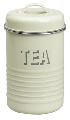 Kitchen canisters for storing all tea types