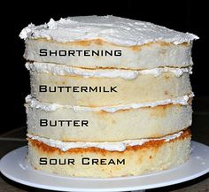 White cake taste test -- by The Bake More -- undoubtedly butter taste the best