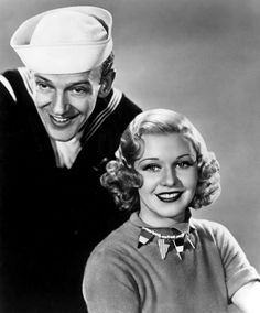 Follow the Fleet - Ginger Rogers and Fred Astaire - Flag Necklace