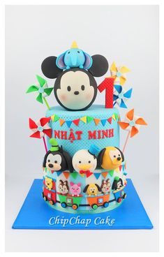 Tsum tsum cake (from fb: Hannover ChipChap Cake) Facebook, Mini, Cake, Happy, Desserts, Food, Tailgate Desserts, Pie, Kuchen