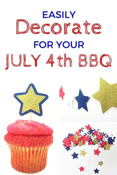 Easily decorate for Fourth of July BBQ's with this Party Pack from Simply Paper Perfect.  www.simplypaperperfect.com