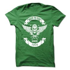 The rider 1976 buy it now click here https://www.sunfrogshirts.com/Automotive/The-rider-1976-Green-18661271-Guys.html?19885&rider #rider#ridertshirt#tshirt#1976#sale#