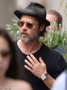 10a7b94975bca Based on a book  Brad s new movie is based on a book by Adam Lewis who also  wrote Moneybal. DESIGNER EYES · Brad Pitt Sunglasses