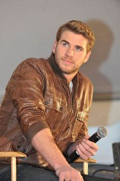 Liam Hemsworth @ The Hunger Games Tributes @ National Mall Tour in ATL