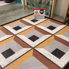 endless range of possibilities with these engineered wood floor tiles. @MirthStudio #HPMKTSS #HPMKT #hpmkt2015