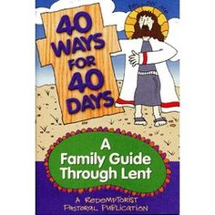 Lent Book: Family guide through Lent. $1.95 #CatholicCompany