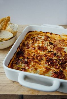 be wp-content uploads 2015 10 Ovenschotel-met-witte-kool. Clean Recipes, Healthy Dinner Recipes, Low Carb Recipes, One Dish Dinners, One Pan Meals, Oven Dishes, Tasty Dishes, Macaroni And Cheese, Foodies