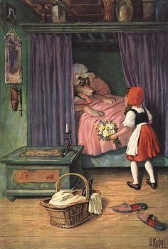Oskar Kubel - Red Riding Hood