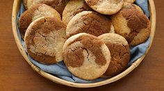 Make a quick and easy gingerdoodle cookie with the help of Betty Crocker™ gingerbread and snickerdoodle cookie mixes.
