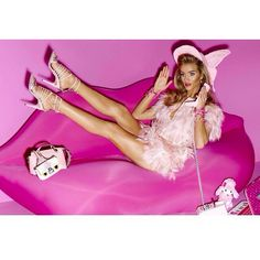 Rosie Huntington-Whiteley as Barbie for Vogue Japan