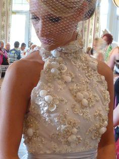 sea shell dresses | Shellabrating Seashells In Fashion | i Love Shelling