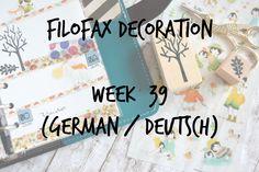 Filofax/Color Crush Decoration Week 39  (german/deutsch)