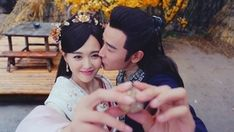 The Princess Wei Young Tiffany Tang Luo Jin, Princess Wei Yang, Drama Queens, Chinese Actress, Drama Movies, Husband Wife, First Night, Strapless Dress Formal, Actresses