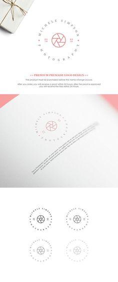 Premade Logo  Photography Logo. Professional Logo by GraphicFlava
