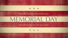 Let us remember those who gave their lives for serving our country, and remember the One who gave His all. Here is scripture on memorial day. Memorial Day Thank You, Memorial Weekend, Memorial Day Pictures, Church Bulletin Boards, Veterans Day, Veterans Site, We Remember, Image Hd, Quote Posters