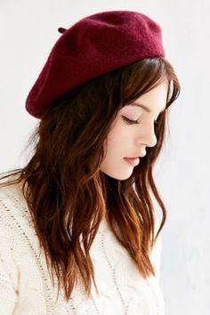 BUYMA.com 海外セレブ愛用☆urbanoutfittersClassic Wool Beret/帽子(18564531)