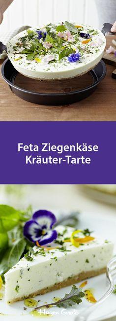 Feta Ziegenkäse Kräuter-Tarte