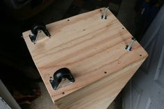 Archive for the 'bench grinder stand' tag Bench Grinder Stand, Tool Stand, Shop Organization, Garage Ideas, Diy Tools, Room Inspiration, Projects To Try, Archive, Workshop