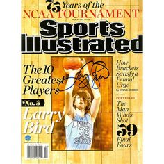 Steiner Sports Larry Bird Signed 2013 Sports Illustrated Magazine, Multicolor