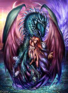 Ddraig: Zodiac Project :: Virgo :: by Sangrde on deviantART Dragon Heart, Dragon Girl, Fire Dragon, Baby Dragon, Mythological Creatures, Fantasy Creatures, Mythical Creatures, Virgo Art, Zodiac Art
