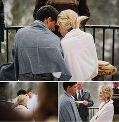 A Snowy Winter Wedding: Kezia + Ashton