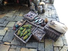 Converted Building by Simone Pohlenz Painting Competition, Medieval Fantasy, Model Homes, Firewood, Miniatures, Gallery, Building, Scale Model, Crafts