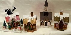 Tim Holtz Village Dwelling die