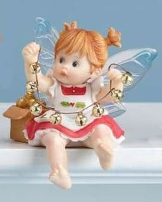 Real Jingle Bell Fairie by My Little Kitchen Fairies, from series twenty six