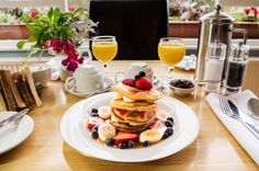 Langdale View Guest House, Bowness on Windemere, Cumbria. England. Breakfast. Travel. Pancakes. Delicious. Relax. Enjoy. Treat.