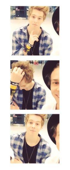 """Luke<< """"ok ready"""" """"wait no let me fix my hair"""" """"ok ready"""""""