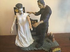 Model-built-up-pro-painted-Bride-of-Frankenstein-look