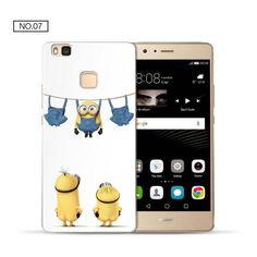 aa660601b67 For Cover Huawei P9 Lite Case Mouse Hard PC for Funda Huawei P8 Lite case  2017 Original for Huawei P10 Lite Case for P9 Lite