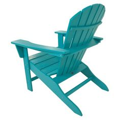 Polywood South Beach Patio Adirondack Chair - Aruba