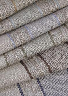 Auvergne Stripe (#1177) by Classic Cloth | Jute: 63% | Cotton: 37% | Dessin Fournir Companies