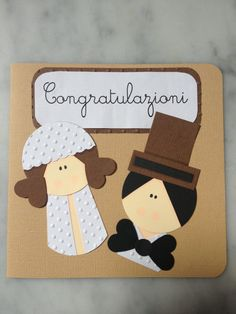 Biglietto di Congratulazioni per Matrimonio di Francylandia, €3.00