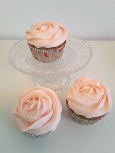 Apfel Ingwer Cupcakes