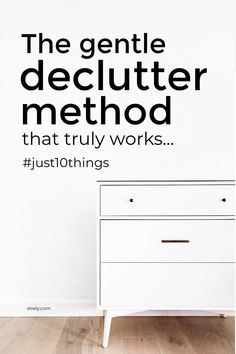 Learn how to use this gentle declutter method that truly does work to clear huge hoards of clutter easily. It will clear you clutter hotspots and tackle your big declutter challenges easily without leaving you overwhelmed and in a bigger mess. #gentledeclutter #easydeclutter #simpledeclutter #quickdeclutter Kids Storage, Wall Storage, Storage Ideas, Getting Organized At Home, Getting Rid Of Clutter, Declutter Your Home, Organizing Your Home, Decluttering Ideas Feeling Overwhelmed, Wrapping Paper Storage