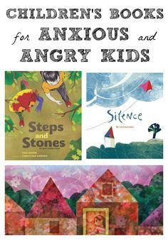 Do you have an angry or anxious child? Here are a few books that might help.