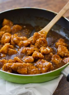 Lighter General Tso's Chicken-Don't know about the chicken part but i really want to try the sauce!