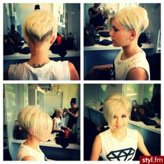 Totally getting my hair cut like this once it grows out more!