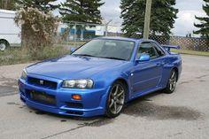 Nissan Skyline R34 GTR http://www.jdmtunersinc.com/VEHICLES.html