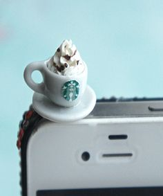 starbucks coffee phone plug - Jillicious charms and accessories - 2