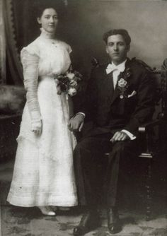 Wedding Photo, 1910